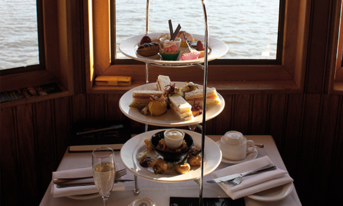 High tea cruise Brisbane
