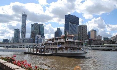 Kookaburra Showboat on the river, Brisbane City