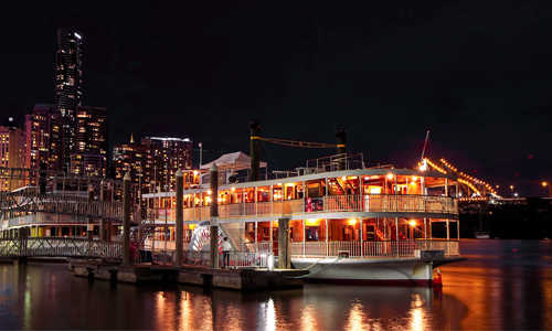 Christmas party cruises Brisbane City, Kookaburra Showboat Cruises