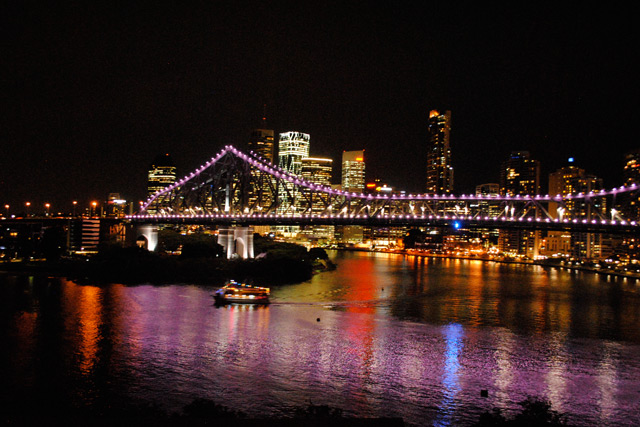 Christmas Party on the Brisbane River