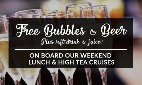 free bubbles and beer
