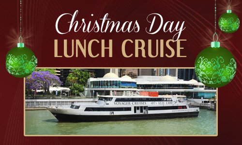 christmas day lunch on voyager